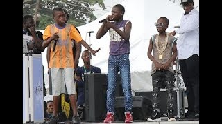 Rap Competition! Meet The 3 little Most Talented Rapper At Agege As They Showcase Themselves