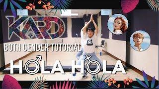 KARD - Hola Hola Dance Tutorial | Full w Mirror Both gender [Charissahoo]