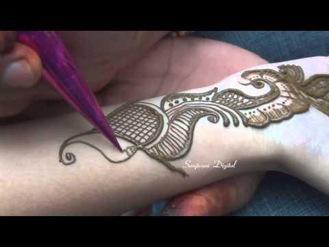 Latest Mehndi Designs 2013 Step by Step #57