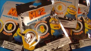 DESPICABLE ME 2 MINION SURPRISE BLIND PACK OPENING