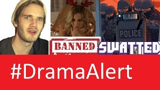 YouTube Recommends P0RN! #DramaAlert Youtuber SWATTED! Zoie Burgher Banned! KSI vs LEAFY!