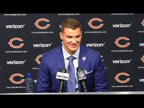 Mitchell Trubisky s Full Introductory Press Conference
