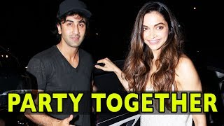 Ranbir Kapoor Party With Ex Deepika Padukone At Imtiaz Ali