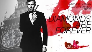 GEORGE LAZENBY as bond in DIAMONDS ARE FOREVER (1971)
