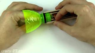 How to Make a - Flashlight using Plastic Bottles hd
