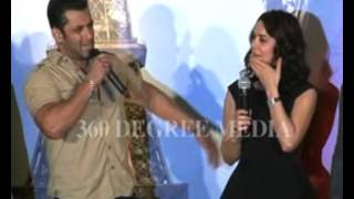 Salman Khan at music launch of Ishq in Paris - praises Preity Zinta for her professionalism