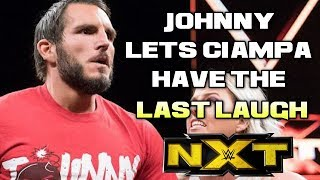 WWE NXT 5/23/18 Full Show Review & Results: JOHNNY GARGANO'S FRUSTRATION COSTS HIM CANDICE LERAE