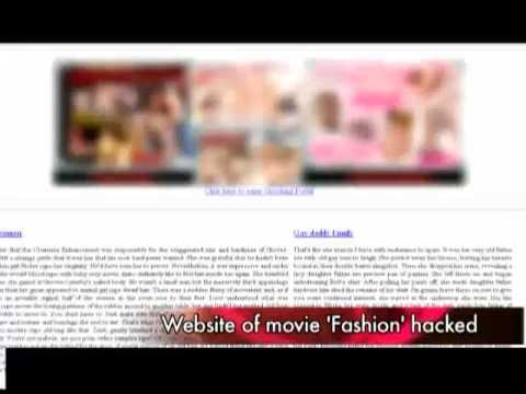 Is 'Fashion' a porn movie?