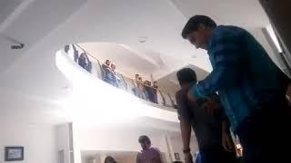Iran, Kermanchah, protestation des étudiants de la faculté des sciences de l