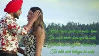 Eh gallan naiyo changiyan Mehtab virk ( lyrics video song ) new punjabi song 2018   Tenu chauni aa  