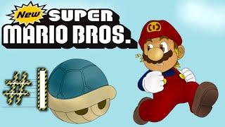 Let's Play New Super Mario Bros [German/100%] *Part 1* - Klempnern für Vollpfosten!