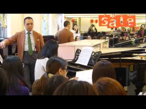 Fuji Asiao Piano's Ernest So X Jeff Hao Masterclass for Hao Staff Adult Beginners (Part 3)
