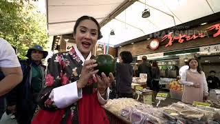 DEMEN MAKAN - Bertemu Puteri Korea Di Jeonju Hanok Village (18/11/18) Part 1