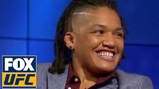 Sijara Eubanks says she draw inspiration from Conor McGregor and Nate Diaz | TUF TALK