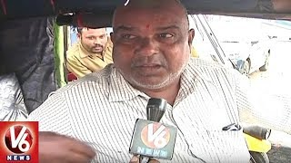 Special Story On Auto Drivers Problems In Hyderabad City | V6 News