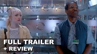 The Amazing Spider-Man 2 Official Trailer Enemies Unite + Trailer Review : HD PLUS