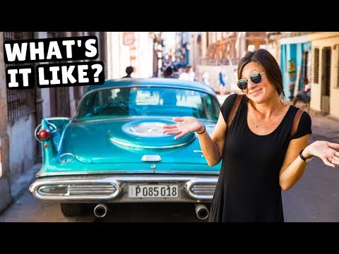 First Impressions of CUBA Exploring Havana with a Local