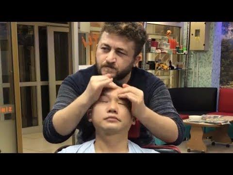 Xxx Mp4 ASMR Turkish Massage NECK CRACK Chinese Customer Head Arm Face Back Massage ÇİNLİ MÜŞTERİ YE MASAJ 3gp Sex