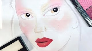 Get the Cherry Blossom Beauty Look from Erin Parsons for Bibhu Mohapatra during NYFW