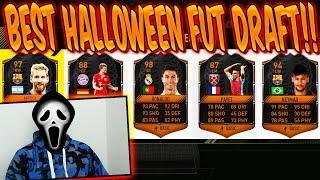 FIFA 17: BEST HALLOWEEN FUT DRAFT EVER!! 4x SCREAM CARDS in 1 DRAFT! - ULTIMATE TEAM (DEUTSCH)