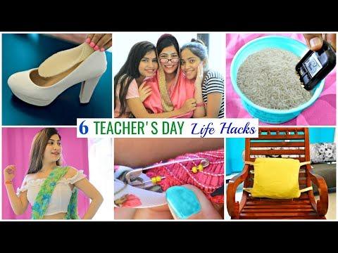 6 TEACHER & STUDENT Life Hacks Fashion Beauty Fun Anaysa
