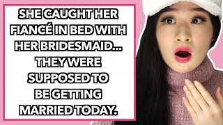 Bride Finds Groom In Bed With Her Bridesmaid *PLOT TWIST*