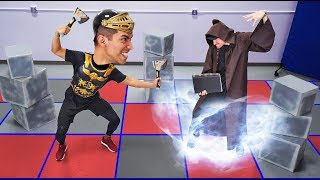 NERF Dungeons & Dragons Challenge! [Ep. 1]