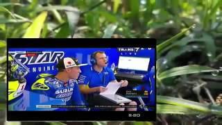 FULL RACE MotoGP Silverstone Inggris 4 September 2016 Aksi Keren  Rossi & Maverick Vinales    Yo