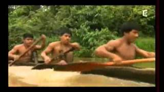 VivreNu-Tv Indiens huaoranis peuple premier vivant nu