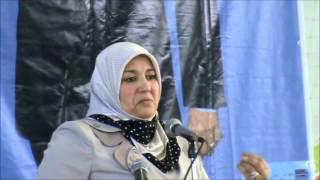 نشطت نعيمة صالحي تجمع شعبي بدائرة راس الواد للمترشح علي بن فليس -2- 12 افريل 2014