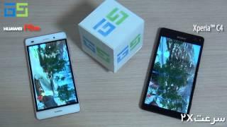 Huawei P8 lite vs Sony Xperia C4 Antutu Benchmark Test