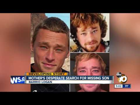 Mother's desperate search for missing son