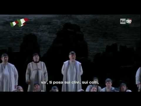 va pensiero riccardo muti speaking about italian culture opera di roma 12032011