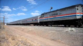 Amtrak's 40th Anniversary Train and Heritage Unit #406 - 4/30/12