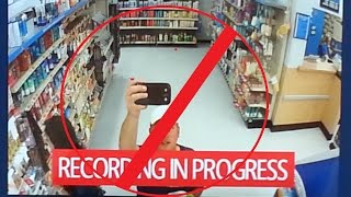 Walmart Exposes my Celebrity Status: The Secret Security Camera?