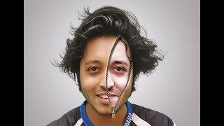 Photoshop Tutorial - Zipper Inside Face Effects