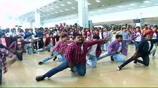 Trivandrum  International Airport Flashmob Onam 2017 by A.O.C