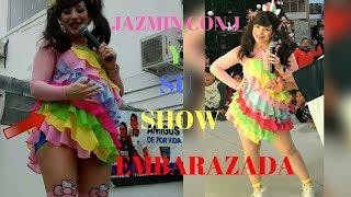 JAZMIN CON J DA SHOW EMBARAZADA
