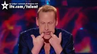 Mam Talent 2010 Niesamowite - mężczyzna z rękoma w żołądku regurgitator Stevie Starr Napisy PL