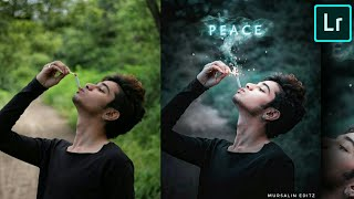 Lightroom + PicsArt smoking new photo editing tutorial