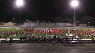 James Logan Marching Band & Color Guard Friends and Family Night  11/18/16