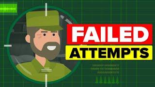 Insane Ways USA Tried To Take Out Fidel Castro