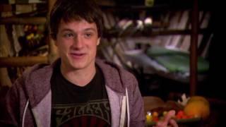 Journey 2: Josh Hutcherson On Set Interview [HD]
