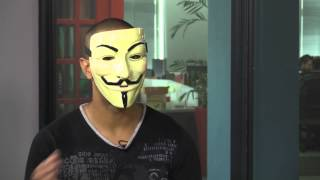 WATCH: Hacktivist group Anonymous joins us in studio