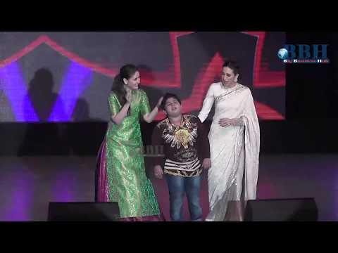 kareena kapoor  karishma kapoor  and Akshat Singh Dance at Hyderabad
