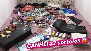 GANHEI 37 SORTEIOS NO INSTAGRAM EM 3 MESES 😱