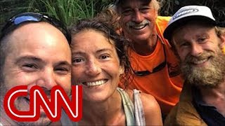 Missing hiker found alive in Hawaii forest