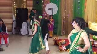 images Shojib JYoTi Holud Shondha Dance Performance Part 1