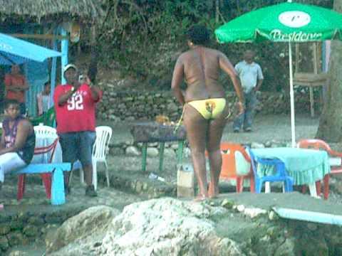 Una loca en San Rafael Barahona