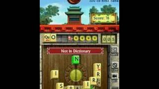 WordJong gameplay video (DS)